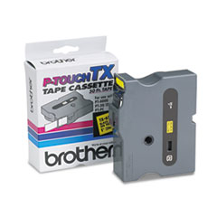 BRTTX6511 - Brother® P-Touch® TX Series Standard Adhesive Laminated Labeling Tape