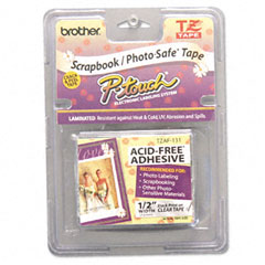 BRTTZAF131 - Brother® P-Touch® TZ Series Photo and Scrapbook Safe Tape