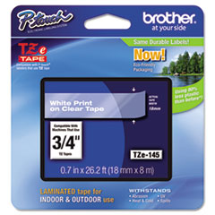 BRTTZE145 - Brother® P-Touch® TZ/TZe Series Standard Adhesive Laminated Labeling Tape