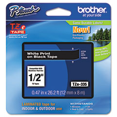 BRTTZE335 - Brother® P-Touch® TZ/TZe Series Standard Adhesive Laminated Labeling Tape