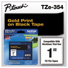 BRTTZE354 - Brother® P-Touch® TZ/TZe Series Standard Adhesive Laminated Labeling Tape