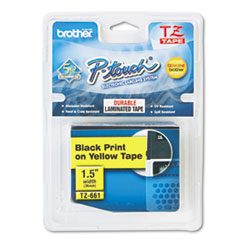 BRTTZE661 - Brother® P-Touch® TZ/TZe Series Standard Adhesive Laminated Labeling Tape