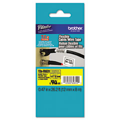 BRTTZEFX631 - Brother® P-Touch® TZe Flexible ID Laminated Labeling Tape