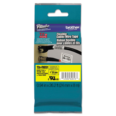 BRTTZEFX651 - Brother® P-Touch® TZe Flexible ID Laminated Labeling Tape