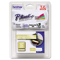 BRTTZEMQ835 - Brother® P-Touch® TZ/TZe Series Standard Adhesive Laminated Labeling Tape