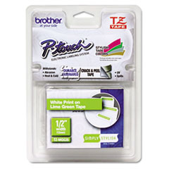 BRTTZEMQG35 - Brother® P-Touch® TZ/TZe Series Standard Adhesive Laminated Labeling Tape
