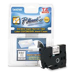 BRTTZEN201 - Brother® P-Touch® TZ Series Super-Narrow Non-Laminated Labeling Tape
