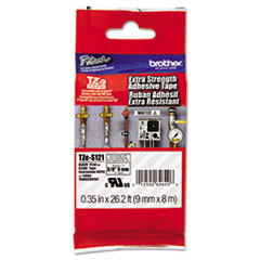 BRTTZES121 - Brother® P-Touch® TZ/TZe Series Extra-Strength Adhesive Laminated Labeling Tape