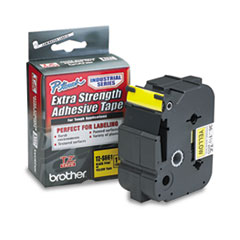 BRTTZES661 - Brother® P-Touch® TZ/TZe Series Extra-Strength Adhesive Laminated Labeling Tape