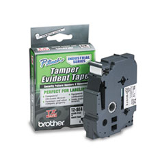 BRTTZESE4 - Brother® P-Touch® TZ Series Tamper-Evident Security Laminated Labeling Tape