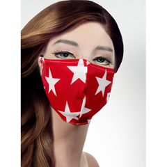 BSC188470 - Pol Atteu - Designer 90210 Face Mask American Red Lady Collection