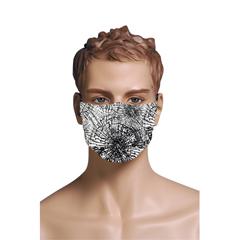 BSC284115 - Pol Atteu - Designer 90210 Face Mask Shattered Web Mens Collection