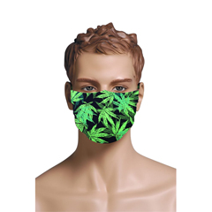 BSC288309 - Pol Atteu - Designer 90210 Face Mask Cannabis Cluster Mens Collection