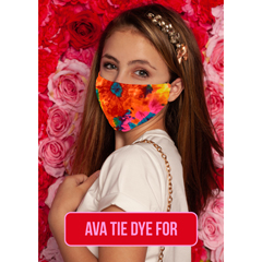 BSC325158 - Pol Atteu - Ava Designer 90210 Face Mask Tie Dye For Lady Collection