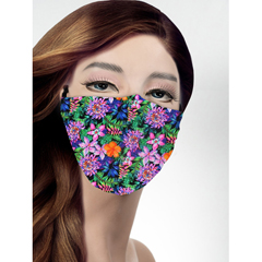 BSC343878 - Pol Atteu - Designer 90210 Face Mask Pandoras Garden Lady Collection