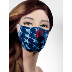 BSC450826 - Pol Atteu - Designer 90210 Face Mask American Dream Lady Collection