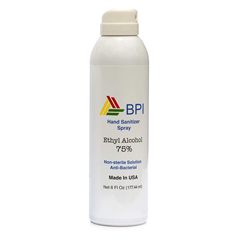 BSC451110 - BSC - BPI 75% Ethyl Alcohol Hand Sanitizer Spray