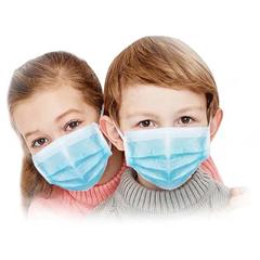 BSC694183 - Detoxiz - 3ply K-K12 Kids Ear Loop Disposable Blue Mask
