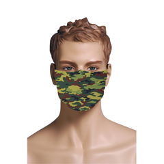 BSC725613 - Pol Atteu - Designer 90210 Face Mask Military Camou Mens Collection