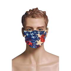BSC747486 - Pol Atteu - Designer 90210 Face Mask American Dream Mens Collection