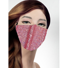 BSC863982 - Pol Atteu - Designer 90210 Face Mask Pink Chateau Lady Collection