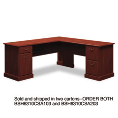 BSH6310CSA203 - Bush® Syndicate Collection L-Desk