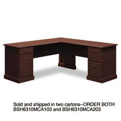 BSH6310MCA103 - Bush® Syndicate Collection L-Desk