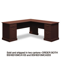 BSH6310MCA203 - Bush® Syndicate Collection L-Desk