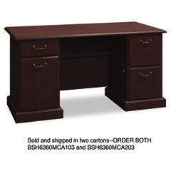 BSH6360MCA203 - Bush® Syndicate Collection Double Pedestal Desk
