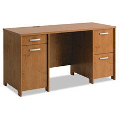 BSHPR76360A1 - Office Connect by Bush Furniture Envoy Series Double Pedestal Desk