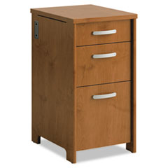 BSHPR76380 - Office Connect by Bush Furniture Envoy Series Three-Drawer Pedestal