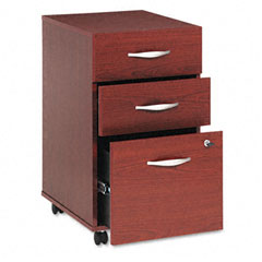 BSHWC36753SU - Bush® Series C Three-Drawer Mobile Pedestal File