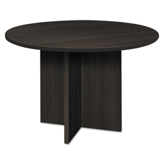 BSXBLC48DESES - basyx® BL Laminate Series Round Table with X Base