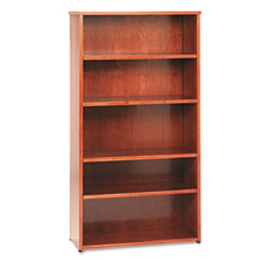 BSXBW2193HH - basyx™ BW Veneer Series Five-Shelf Bookcase