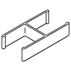 BSXQC180GY - Basyx® Versé™ QuickConnect 180° Panel Connectors