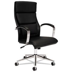 BSXVL105SB11 - basyx® VL105 Executive High-Back Leather Chair