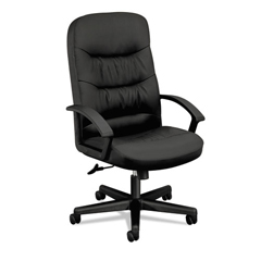 BSXVL641SB11 - basyx® VL641 Series Executive High-Back Leather Chair