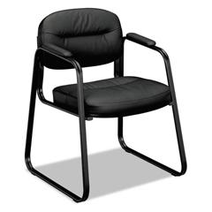 BSXVL653SB11 - basyx® VL653 Leather Guest Chair