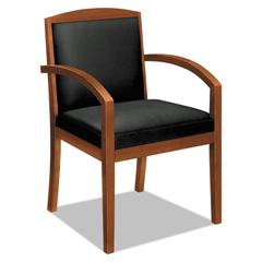 BSXVL853HSB11 - basyx® VL850 Series Leather Guest Chair