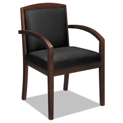 BSXVL853NSB11 - basyx® VL850 Series Leather Guest Chair