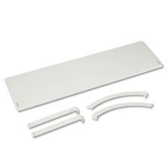 BSXVSH48GYGY - Basyx® Versé™ Panel System Hanging Shelf