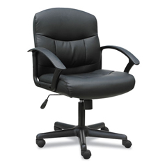 BSXVST303 - Sadie™ 3-Oh-Three Mid-Back Executive Leather Chair