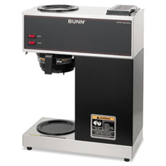 BUNVPR - BUNN® Pour-O-Matic® Two-Burner Pour-Over Coffee Brewer