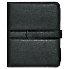 BUXOC402I15BK - Buxton® Faux Leather Easel iPad Case