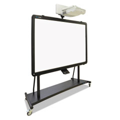 BVC9D006064 - MasterVision® Interactive Board Mobile Stand with Ultra-Short Throw Projector Mounting Plate