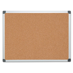 BVCCA051170 - MasterVision® Value Cork Bulletin Board with Aluminum Frame
