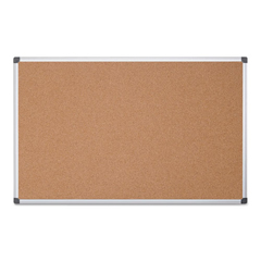 BVCCA211170 - MasterVision® Value Cork Bulletin Board with Aluminum Frame