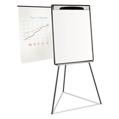 BVCEA23062119 - MasterVision Magnetic Gold Ultra Dry Erase Tripod Presentation Easel with Extension Arms