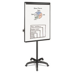 BVCEA4800055 - MasterVision® Silver Easy Clean Dry Erase Mobile Presentation Easel