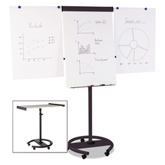 BVCEA4806156 - MasterVision® 360 Multi-Use Mobile Magnetic Dry Erase Easel
